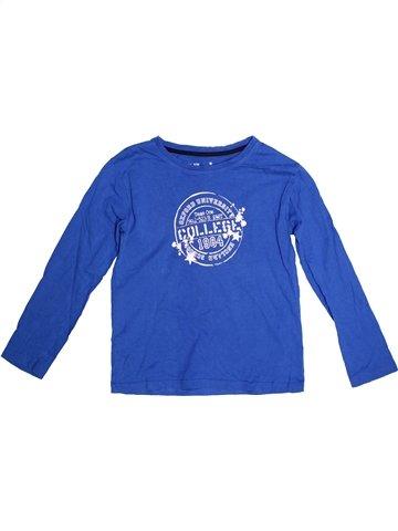 T-shirt manches longues garçon ALIVE bleu 10 ans hiver #1251277_1