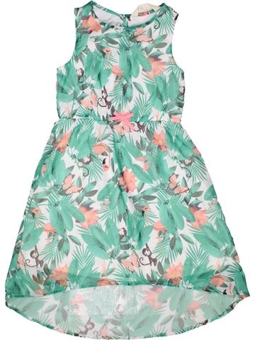 Vestido niña H&M verde 8 años verano #1251690_1