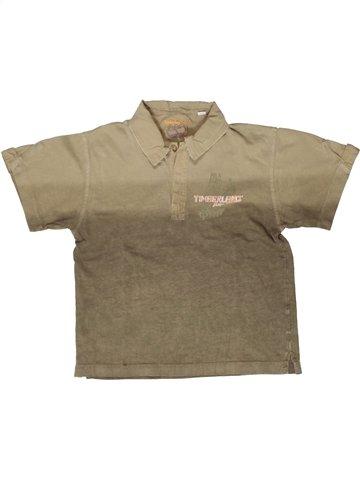 Polo de manga corta niño TIMBERLAND marrón 6 años verano #1252562_1