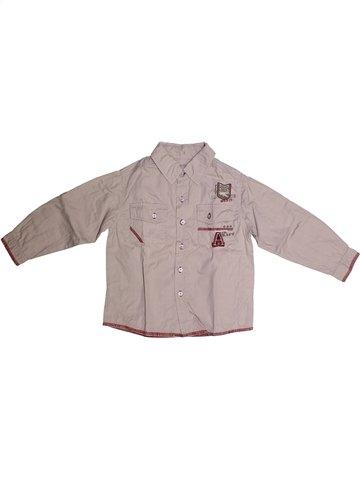 Camisa de manga larga niño 3 SUISSES rosa 4 años invierno #1252572_1
