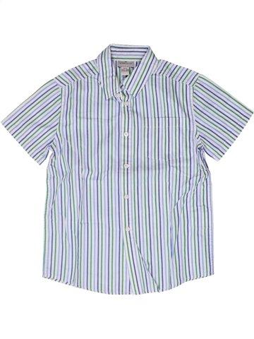 Camisa de manga corta niño CYRILLUS blanco 8 años verano #1252580_1