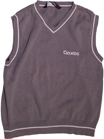 Pull garçon OOXOO gris 8 ans hiver #1252750_1