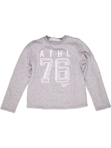 Sweat fille DOMYOS blanc 12 ans hiver #1254493_1