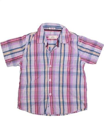Chemise manches courtes garçon JOULES gris 7 ans été #1255034_1