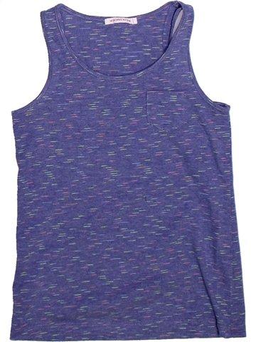 Camiseta sin mangas niña MONOPRIX azul 10 años verano #1255313_1