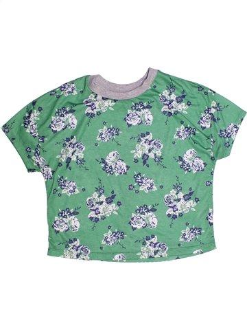 T-shirt manches courtes fille DUNNES STORES vert 11 ans été #1255365_1