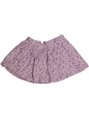 Falda niña CYRILLUS violeta 3 años verano #1256136_1