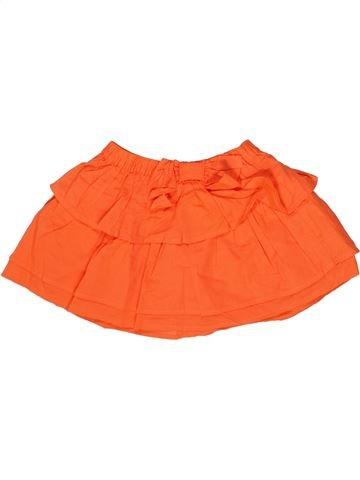 Jupe fille GYMBOREE orange 3 ans été #1256334_1