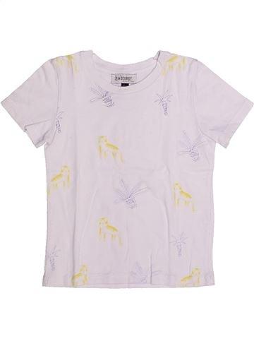 Camiseta de manga corta niño JEAN BOURGET blanco 4 años verano #1256790_1