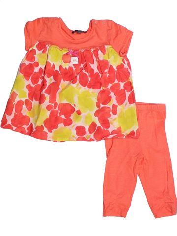 Conjunto niña FLORIANE naranja 2 años verano #1257033_1