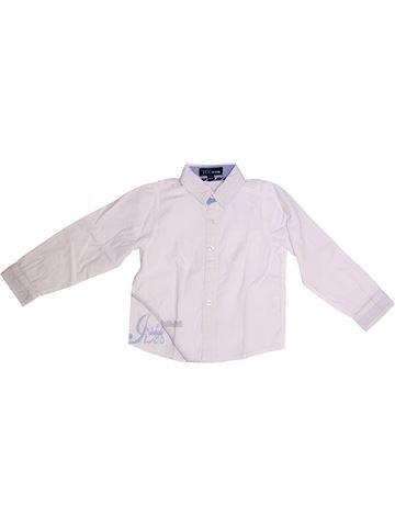 Chemise manches longues garçon YCC-214 blanc 3 ans hiver #1257169_1