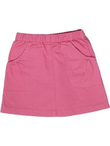Falda niña LA REDOUTE CRÉATION rosa 3 años verano #1257954_1