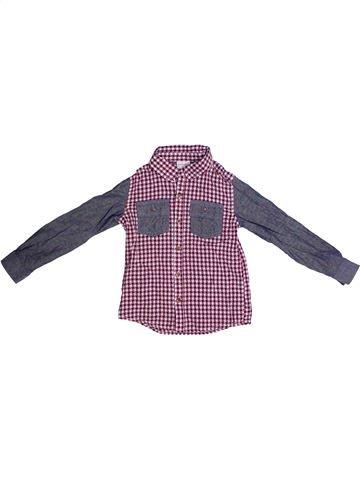 Chemise manches longues garçon MINI CLUB violet 3 ans hiver #1258121_1
