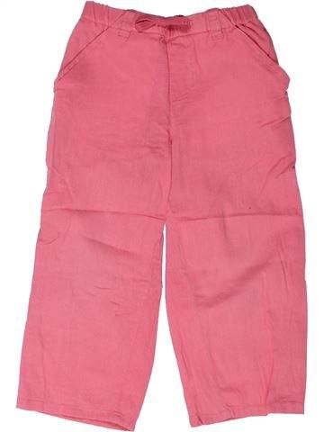 Pantalon fille BOUT'CHOU rose 3 ans été #1258291_1