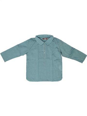 Camisa de manga larga niño BOUT'CHOU azul 2 años invierno #1258380_1