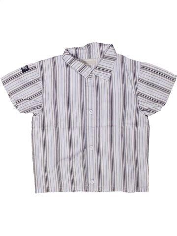 Camisa de manga corta niño KIMBALOO blanco 2 años verano #1258568_1