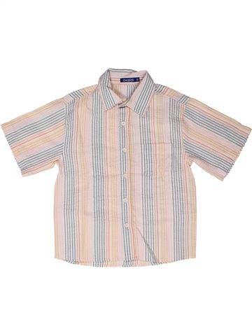 Chemise manches courtes garçon OKAIDI bleu 6 ans été #1258574_1