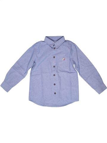 Chemise manches longues garçon JACADI bleu 8 ans hiver #1258899_1