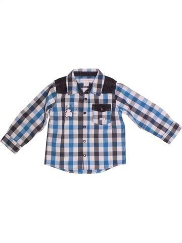 Chemise manches longues garçon LULU CASTAGNETTE gris 2 ans hiver #1259897_1