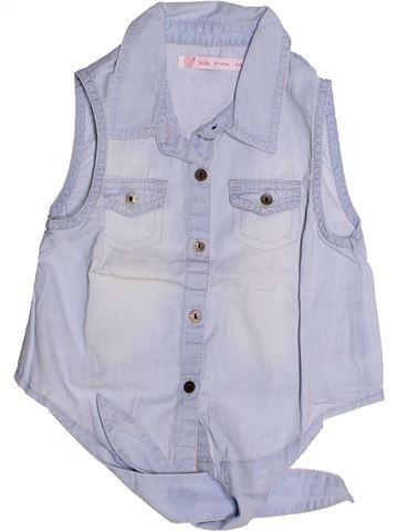 Blusa de manga corta niña GEMO violeta 4 años verano #1259986_1