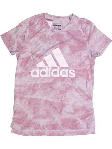 Camiseta de manga corta niña ADIDAS rosa 12 años verano #1260661_1