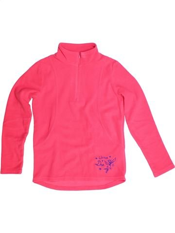 Pull fille DPAM rose 12 ans hiver #1260806_1