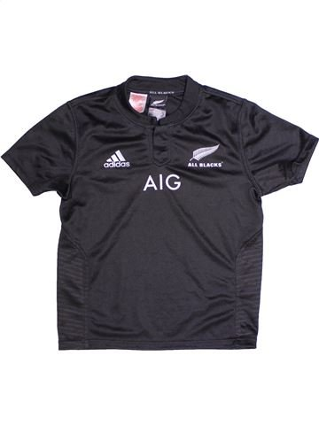 Camiseta deportivas niño ADIDAS negro 11 años verano #1261323_1