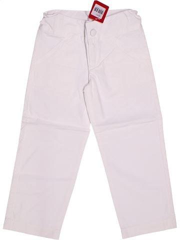 Pantalón niña CLAYEUX blanco 4 años verano #1262096_1