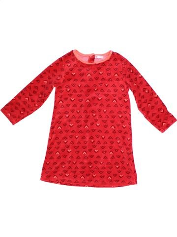 Camisón niña DPAM rojo 6 años invierno #1262184_1