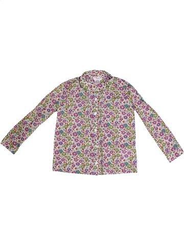 Blusa de manga larga niña CYRILLUS violeta 4 años invierno #1262360_1