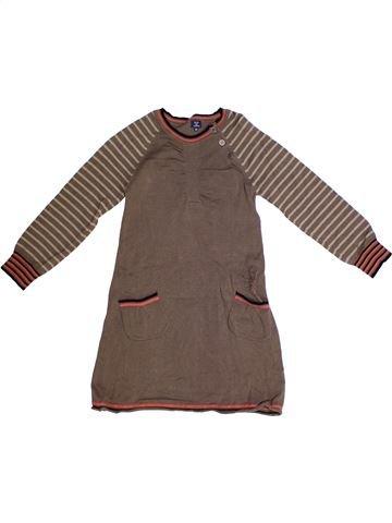 Vestido niña TERRE DE MARINS marrón 6 años invierno #1262475_1