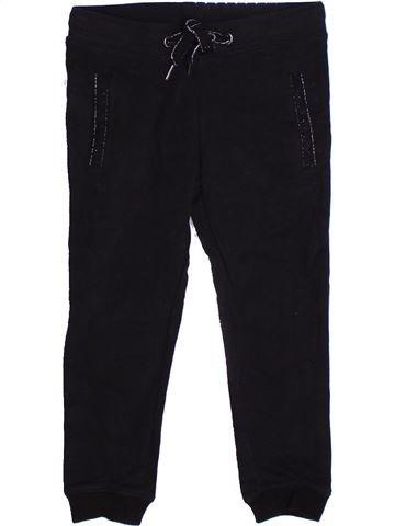 Pantalon fille MONOPRIX noir 4 ans hiver #1262901_1