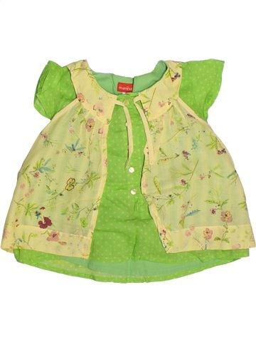 Blusa de manga corta niña MARÈSE verde 3 años verano #1263082_1