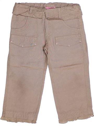 Pantalón corto niña CONFETTI gris 4 años verano #1263903_1