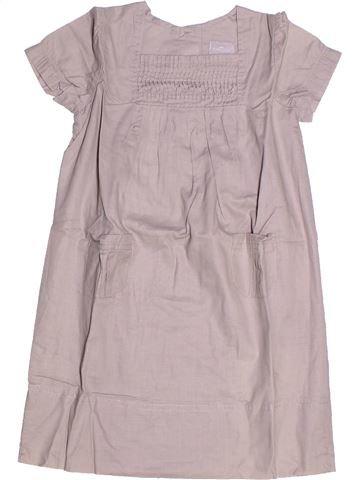 Robe fille CYRILLUS gris 5 ans été #1264040_1