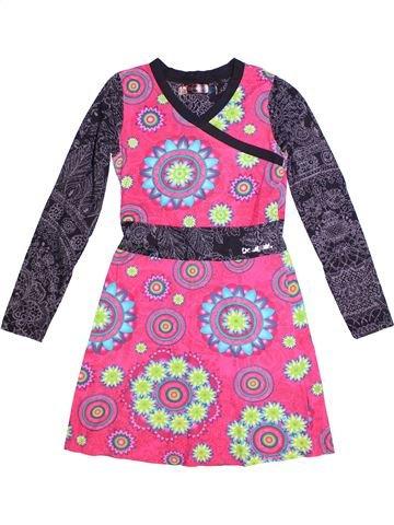 Robe fille DESIGUAL rose 12 ans été #1265001_1