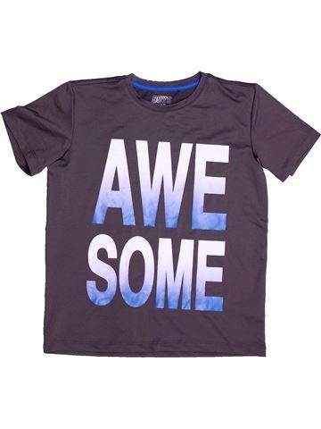 T-shirt manches courtes garçon BOYS violet 9 ans été #1265309_1