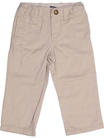 Pantalon garçon GAP beige 2 ans hiver #1265820_1