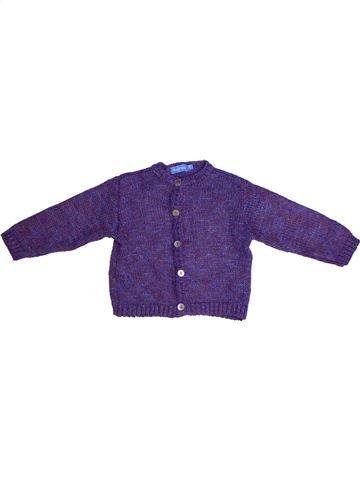 Chaleco niña BOUT'CHOU violeta 2 años invierno #1266630_1
