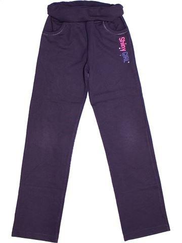 Pantalon fille GEMO bleu 10 ans hiver #1266909_1