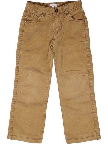 Pantalon garçon YCC-214 marron 5 ans hiver #1266978_1