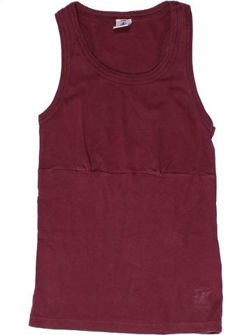 Camiseta sin mangas niña PETIT BATEAU violeta 12 años verano #1267108_1