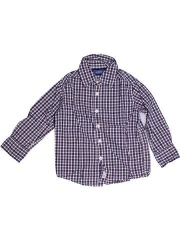 Chemise manches longues garçon MEXX violet 3 ans hiver #1267678_1