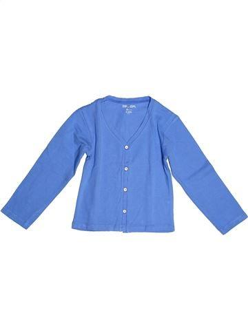 T-shirt manches longues fille DPAM bleu 3 ans été #1267936_1