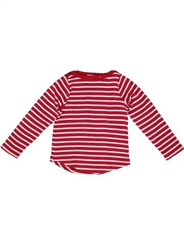 T-shirt manches longues fille JACADI blanc 6 ans hiver #1267950_1