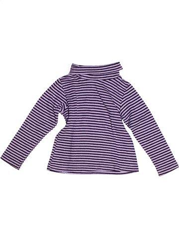 Camiseta de cuello alto niña LISA ROSE violeta 3 años invierno #1268358_1