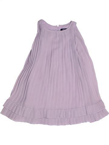 Robe fille LILI GAUFRETTE violet 4 ans été #1268412_1