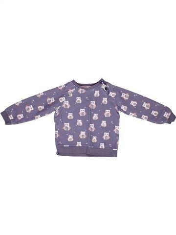 Sweat fille JOHN LEWIS violet 3 ans hiver #1268652_1