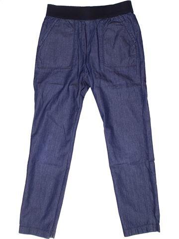 Pantalon fille MONOPRIX violet 8 ans été #1268839_1