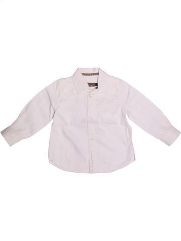 Blusa de manga larga niña JEAN BOURGET blanco 2 años invierno #1269012_1